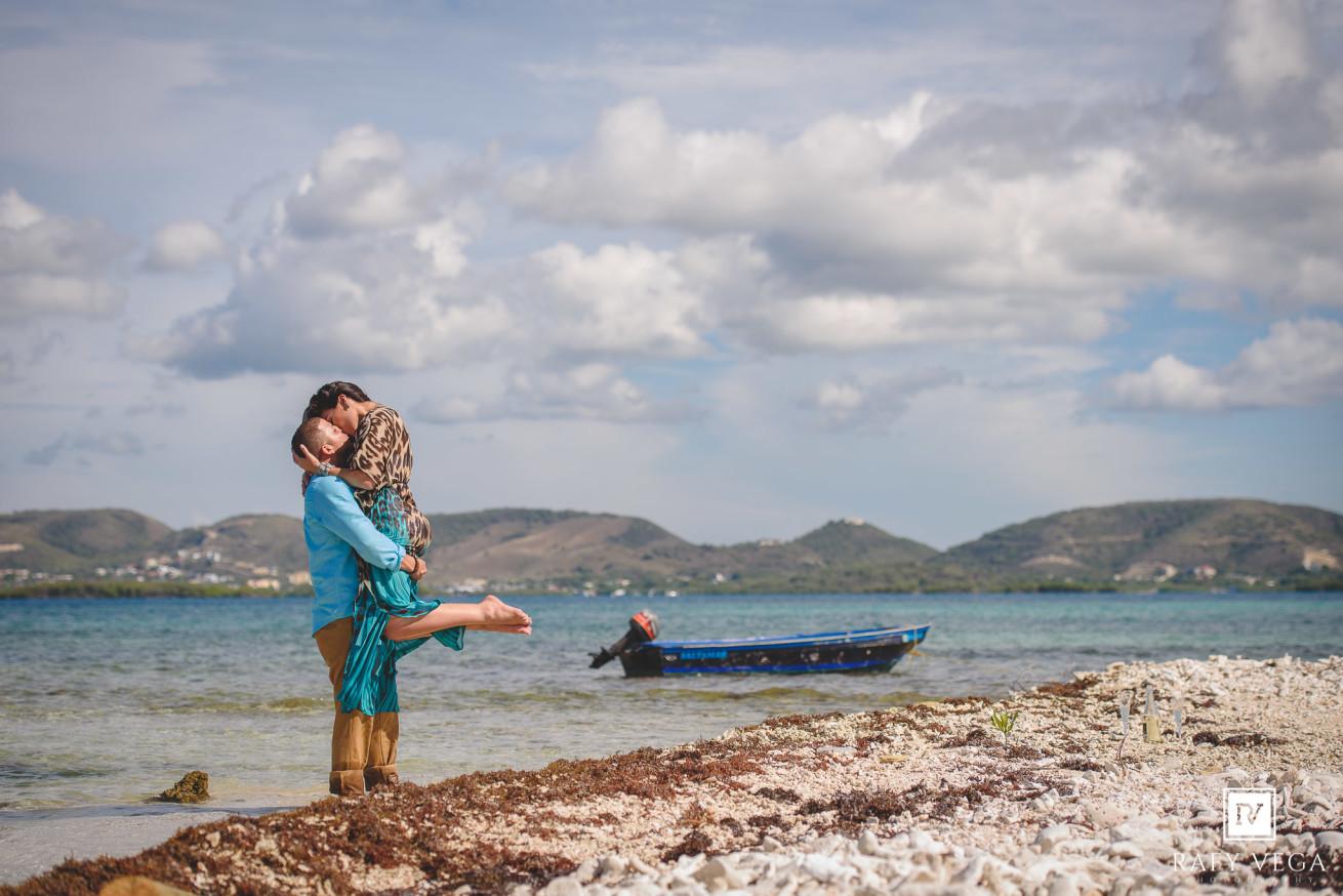 Love Story en Alta mar , La Parguera Lajas Puerto Rico
