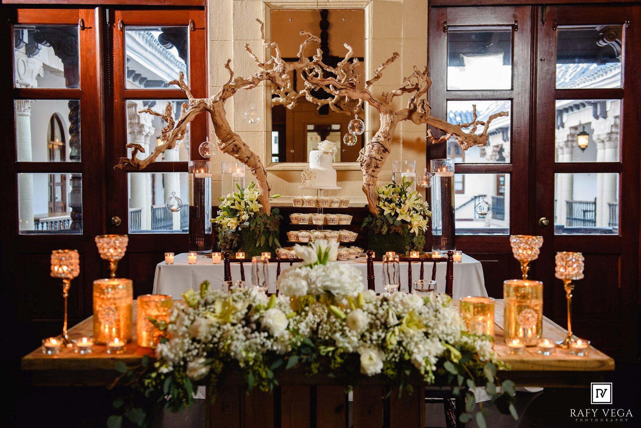 Rom ntica boda en casa espa a viejo san juan - Decoracion en espana ...