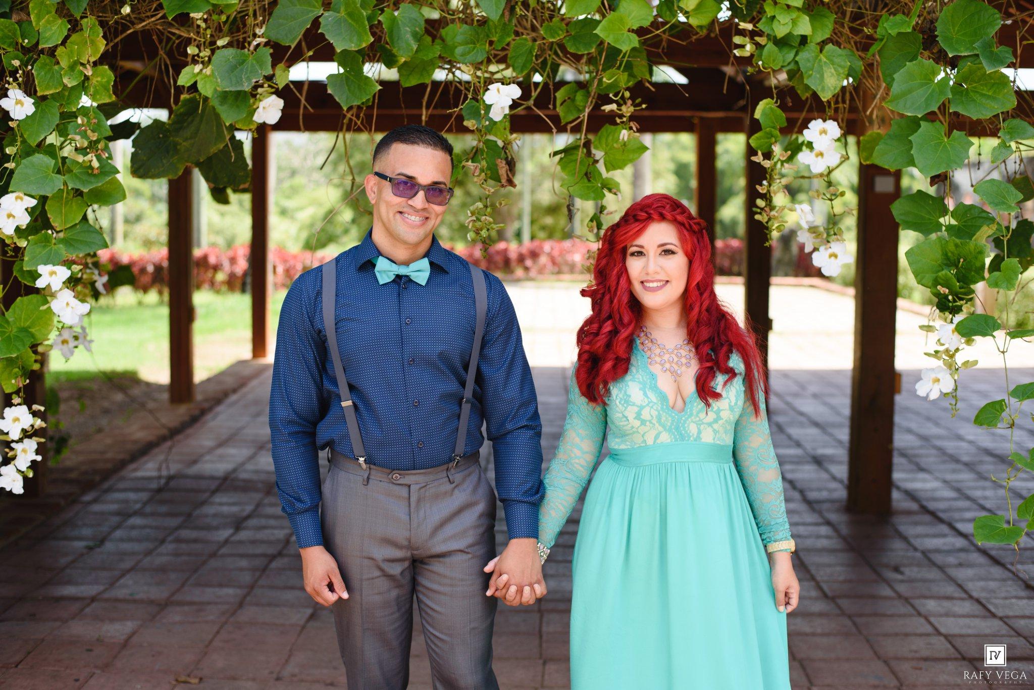 Love story en el jard n bot nico de caguas stephanie jos for Boda en el jardin botanico