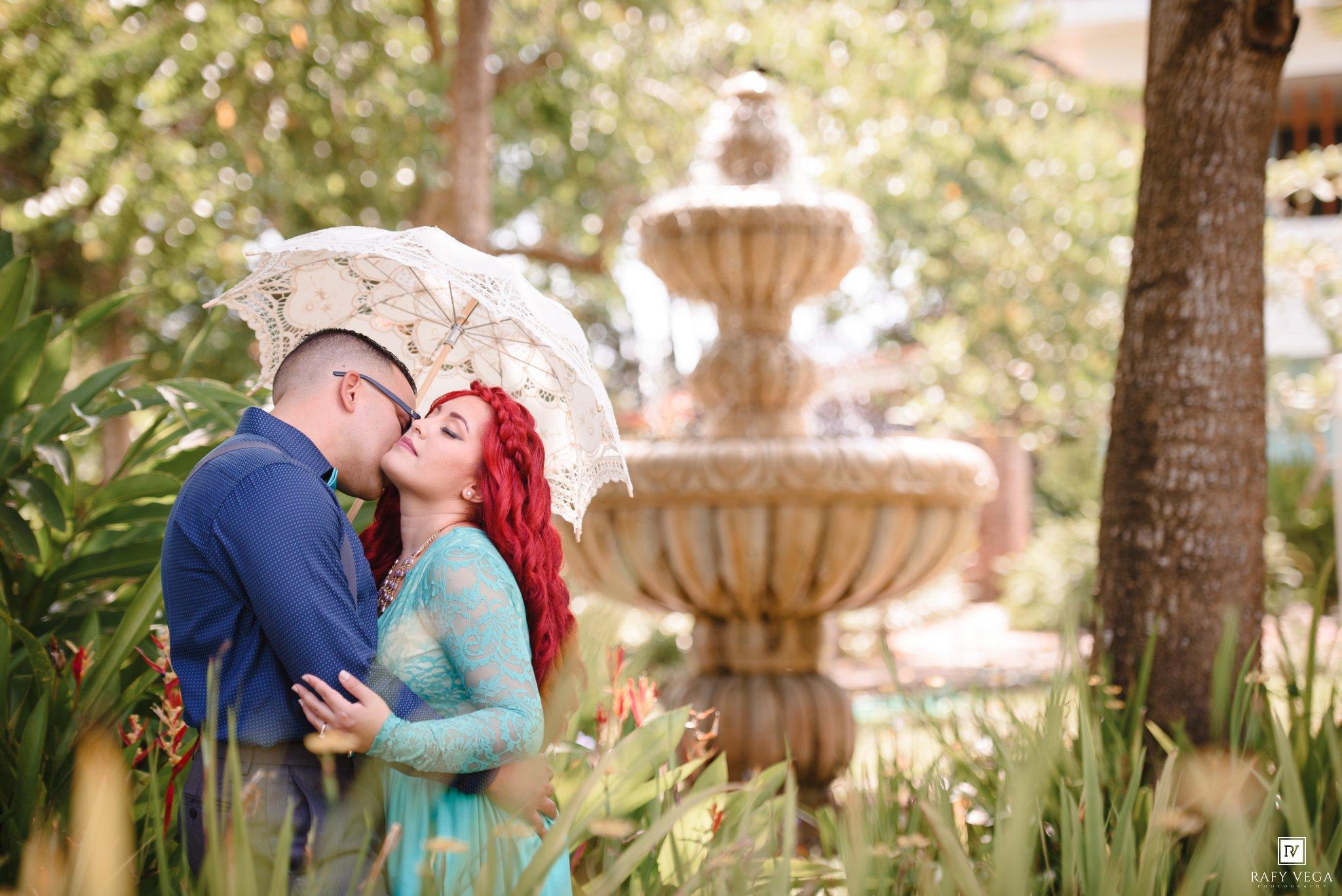 Love story en el jard n bot nico de caguas stephanie jos for Bodas en el jardin botanico de caguas